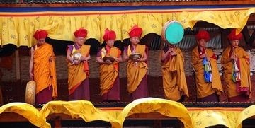 Bhutanese Monk Band