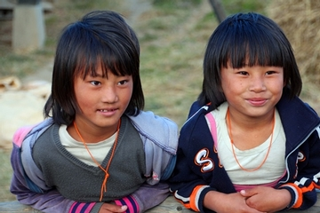 Two Bhutanese Girls